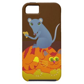 Cat & Mouse iPhone SE/5/5s Case