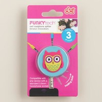 Owl Headphone Splitter - World Market
