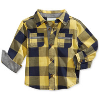 First Impressions Baby Boys' Plaid Shirt