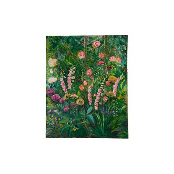 "Grace B. Keogh ""June Garden"" Large Painting"