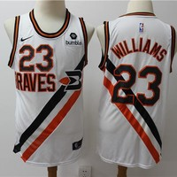 LA Clippers 23 Lou Williams Buffalo Braves Swingman Jersey