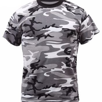 Rothco Colored City Camo T-Shirts