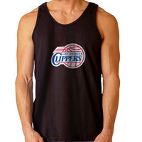 Los Angeles Clippers For Mens Tank Top Fast Shipping For USA special christmas ***
