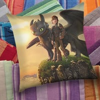 How To Train Your Dragon   decorative pillow and pillow case