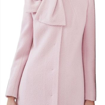 Ted Baker London Bow Neck Coat | Nordstrom