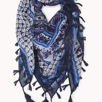 Boho Sweet Fringed Scarf