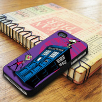 Doctor Who Invader Zim Tardis Sherlock iPhone 5 | iPhone 5S Case