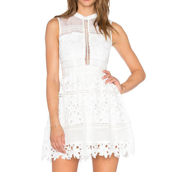 Bronx and Banco Katia Dress in White