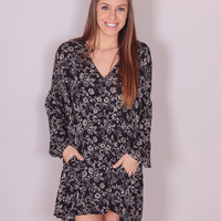 Moonlight Dance Dress - Black