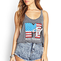 FOREVER 21 Acid Wash Denim Shorts Denim Washed