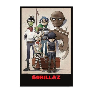 Gorillaz Domestic Poster