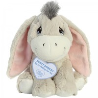 """""""We're Pulling For You"""", Dusty Donkey Stuffed Animal, 8.5 inches"""