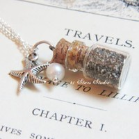 Beach In A Bottle Necklace on Luulla