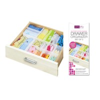 Slotted Interlocking Drawer Organizer