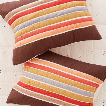Uxmal Retro Blocks Sham Set - Urban Outfitters