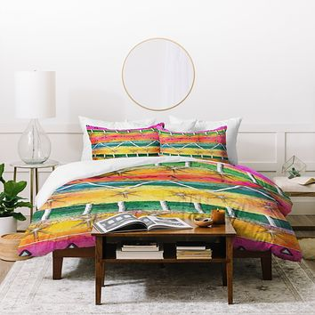 Ingrid Padilla Mount Sunrise Duvet Cover