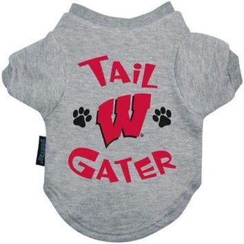DCCKGW6 Wisconsin Badgers Tail Gater Tee Shirt