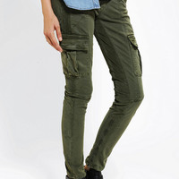 Urban Outfitters - SOLD Design Lab Corduroy-Mix Cargo Pant