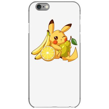 pikachu and fruits iPhone 6/6s Case
