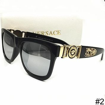 Versace New Men And Women With The Same Tide Brand Stylish Polarized Sunglasses F-WMYJ-YF #2