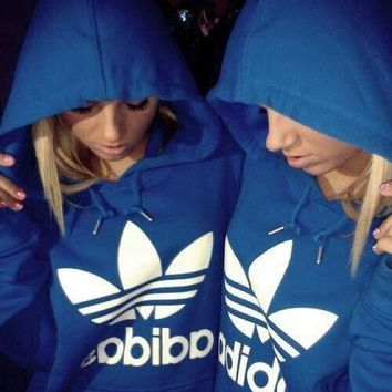 "Women Men Fashion ""Adidas"" Sweater Hoodie"