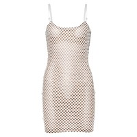 ELODIE Women's Sleeveless Mesh Dress