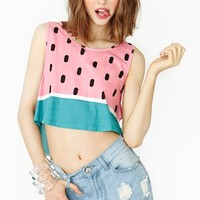 Watermelon Crop Tank