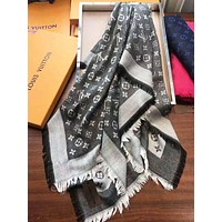 LV Louis Vuitton high-quality female square F-XLL-WJ Grey