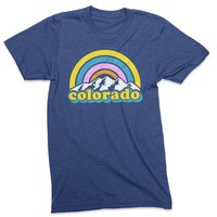 Colorado Rainbow- Colorado tshirt