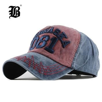 Trendy Winter Jacket [FLB] Summer Baseball Cap Embroidery wash Cap Hats For Men Women Snapback Gorras Hombre Casual Hip Hop Caps Dad Casquette F123 AT_92_12