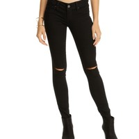 Black Lights Out Skinny Jeans