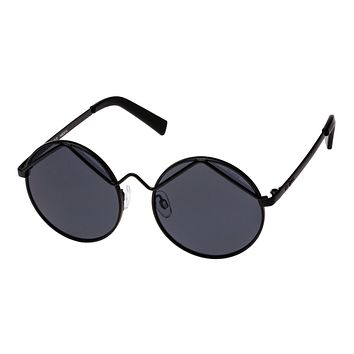Le Specs Wild Child Black Sunglasses