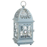 Mini Jeweled Lantern - Blue