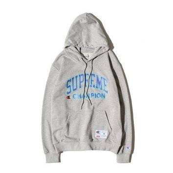 Supreme Winter Hoodies Pullover Hats [11501030220] Grey I