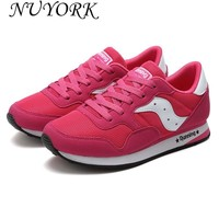 NUYORK New listing Hot sales summer Mesh Breathable women and men Sports shoes  sneakers  portable bottom running shoes 818-A18