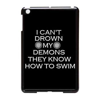 Bring Me The Horizon Lyrics iPad Mini Case