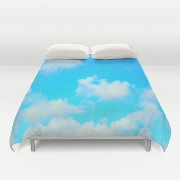 Clouds Duvet Cover by 2sweet4words Designs
