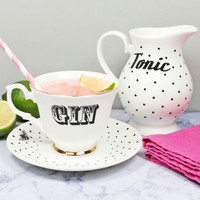 'Gin And Tonic' Tea Set