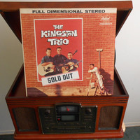 Vinyl Record -The Kingston Trio - Sold Out - 1960 Country Vintage Vinyl
