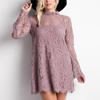 A Walk to Remember in Mauve- CLOSEOUT
