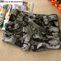 Camouflage shorts Fashion basic new board  shorts Women Loose Drawstring hot Short pants Camouflage shorts