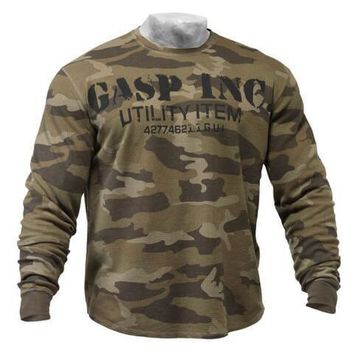 Gasp Long Sleeve Thermal Sweater
