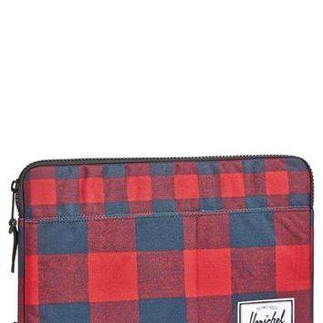 Men's Herschel Supply Co. 'Anchor - Buffalo Plaid' MacBook Air/Pro Laptop Sleeve (13 Inch)