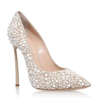 Casadei Blade Jewelled Court Shoes | Harrods