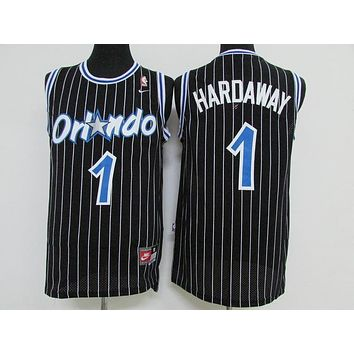 Classic NBA Basketball Jerseys Orlando Magic #1 Penny Anfernee Hardaway Black