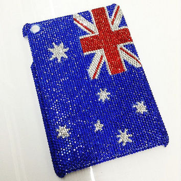 flag rhinestone  ipad 2 bling case ipad 3 bling case ipad 4 bling case ipad mini bling case