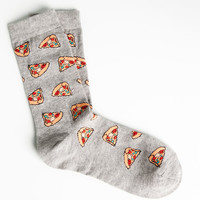 PIZZA PATTERN SOCKS - ACCESSORIES - WOMAN - PULL&BEAR United Kingdom