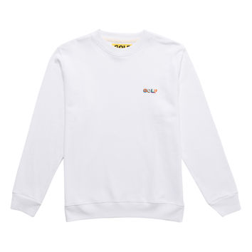 GOLF 3D MINI LOGO CREWNECK