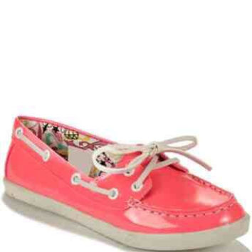 Rock and Candy Boatie Pink Shoes