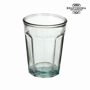 Recycled Glass Vase Tall - Pure Crystal Kitchen Collection by Bravissima Kitchen